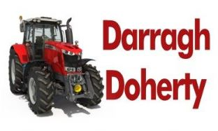 Personalised Massey Ferguson Tractor School Book Stickers